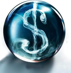 dollar sign smoke